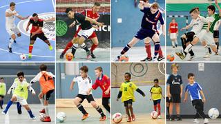 DFB-Training online: Trainingstipps für die Halle