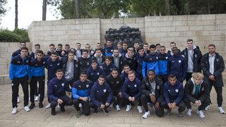 U 18 besucht Yad Vashem und Klagemauer