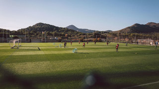 Wintertrainingslager: U 16 und U 17 in La Manga