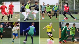 DFB-Training online: Halleninhalte aufs Feld übertragen