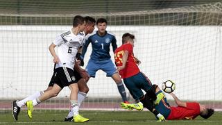 Knappe Niederlage: U 17 verliert 0:1 gegen Spanien