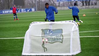 Hertha BSC spielt in der Wabe