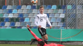 Netz lupft U 17 zum Sieg gegen Slowenien