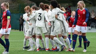 U 17-Juniorinnen siegen auch gegen Norwegen