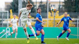 Quali-Auftakt: U 19 gewinnt gegen Griechenland