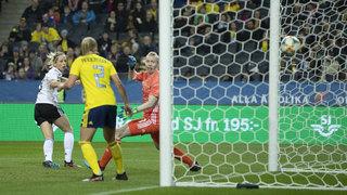 DFB-Frauen gewinnen 2:1 in Schweden