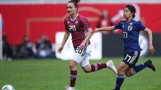 DFB-Frauen spielen 2:2 gegen Japan