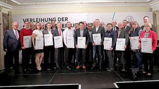 Verleihung der Sepp-Herberger-Urkunden 2019