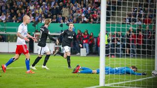 HSV vs. Leipzig: Die Bilder vom DFB-Pokalhalbfinale