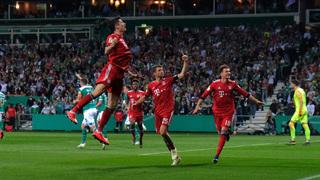 Offener Schlagabtausch: Bayern gewinnt 3:2 in Bremen