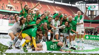 DFB-Pokalfinale der Frauen: Wolfsburg gewinnt gegen Freiburg