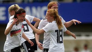 U 16-Juniorinnen gewinnen erstes Duell gegen Frankreich