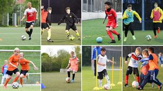 DFB-Training online: Dribbler fördern