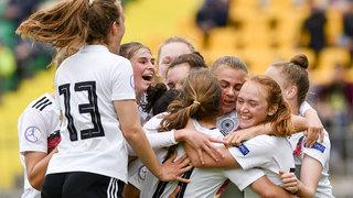 U 17-Juniorinnen ziehen gegen Portugal ins EM-Finale ein