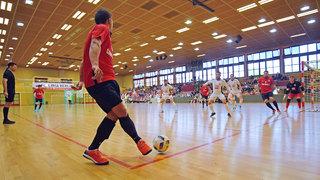 Futsal-Meisterschaft-Halbfinale: FC Liria gegen Weilimdorf