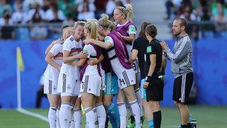 Sieg gegen Südafrika: DFB-Frauen sind Gruppensieger