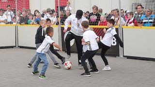 Panna Match Berlin in Mainz beim Fan Club