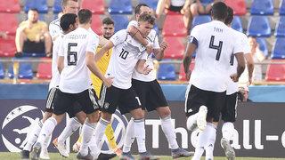 U 21 gewinnt EM-Halbfinale gegen Rumänien