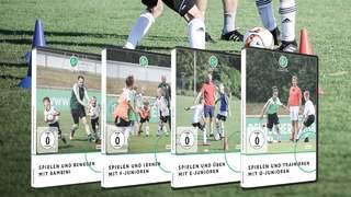 Neue DVD-Reihe für den Kinderfußball
