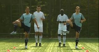 FIFA 11+ Teil 1: Laufübungen - 8 Minuten