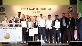Verleihung der Fritz-Walter-Medaille 2019