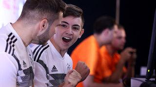 eNationalmannschaft im ersten Heimspiel gegen Niederlande