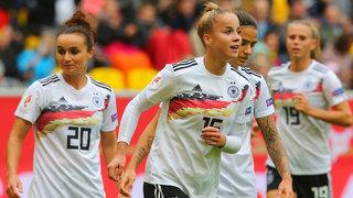DFB-Frauen mit drittem Qualisieg gegen Ukraine