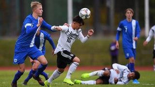 U 16 gewinnt erstes Spiel in Finnland