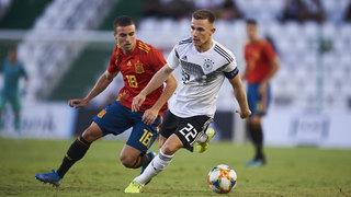 U 21 1:1 im Klassiker gegen Spanien