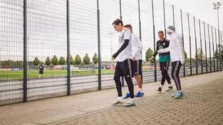 Training und PK in Dortmund
