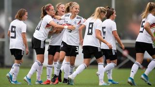 U 15-Juniorinnen besiegen die Schweiz 5:0
