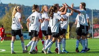 U 15-Juniorinnen gewinnen auch zweites Spiel gegen Schweiz