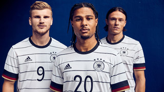 Die neue Spielkleidung der Nationalmannschaft