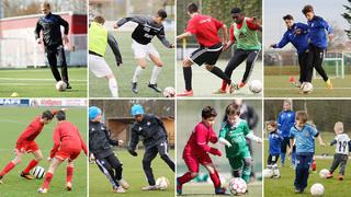 DFB-Training online: Zusammen spielen lernen