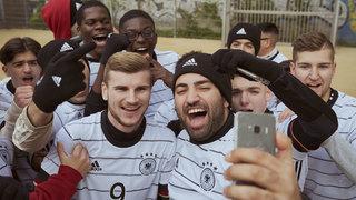 DFB-Team in Düsseldorfeingetroffen