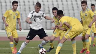 U 17 siegt 5:0 gegen Kasachstan