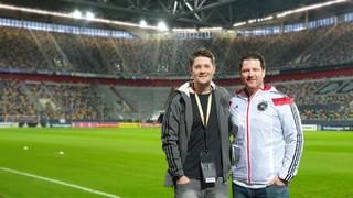 Fan-tastic Moment vor Belarus-Spiel