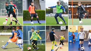 DFB-Training online: Zuspiele kontrolliert verarbeiten