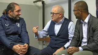 Keller und Cacau präsentieren DFB-Integrationskonzept in Berlin
