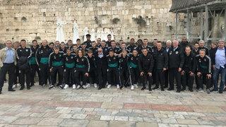 U 18-Junioren besuchen Yad Vashem und Jerusalem