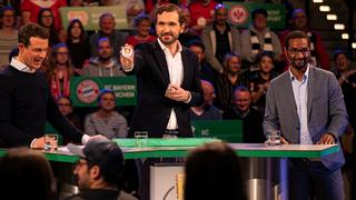 DFB-Pokalauslosung mit Curtius und Cacau