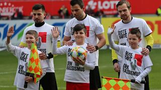 3. Liga setzt Zeichen gegen Rassismus