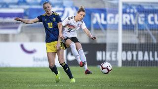 Algarve Cup: Sieg gegen Schweden