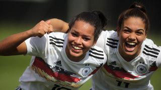 U 19-Frauen gewinnen gegen Frankreich