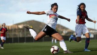 U 19-Frauen: 2:0 im zweiten Spiel gegen Norwegen
