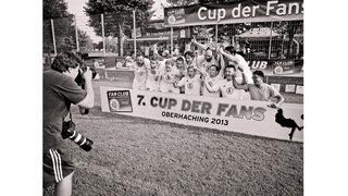 Zehn Jahre Fan Club – Horst Hamann beim Cup der Fans