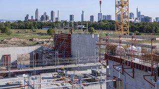 DFB-Akademie: Besuch auf der Baustelle