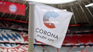 Bundesliga und Schiedsrichter werben für Corona-Warn-App