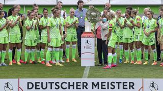 Wolfsburg: Sieg gegen Leverkusen und Meisterschale