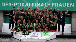 Wolfsburg gewinnt dramatisches Pokalfinale